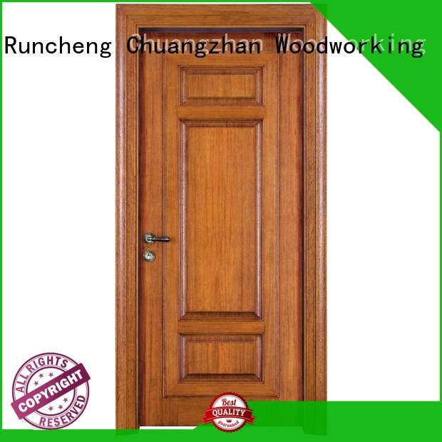 Runcheng Chuangzhan wood composite door company for villas