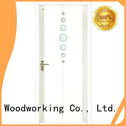 internal white mdf composited wooden door pp005 pp003 pp027 Runcheng Woodworking