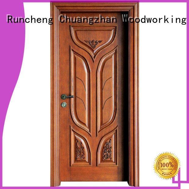 s017 x036 solid wood bedroom composite door Runcheng Woodworking