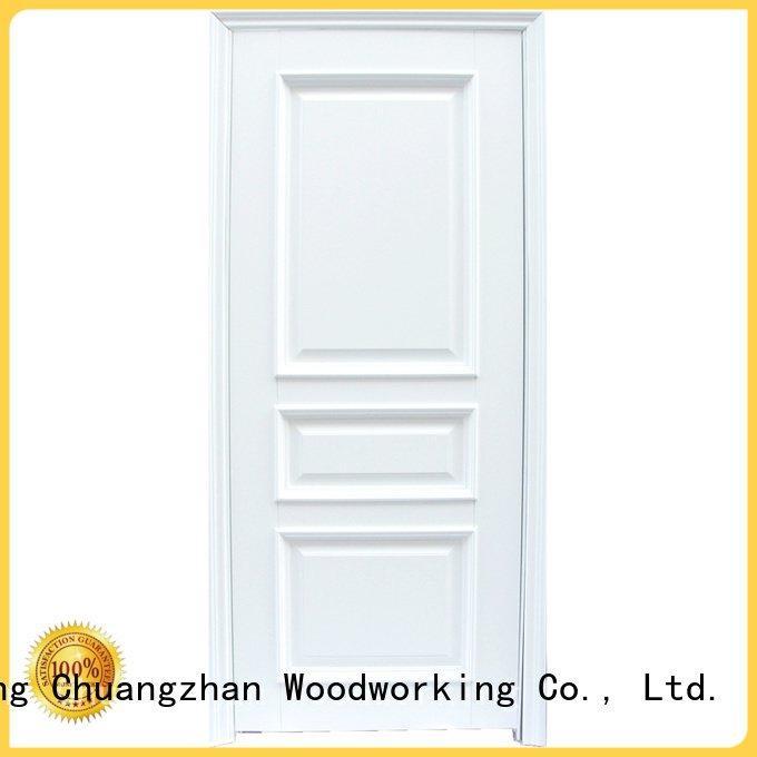 solid wood bedroom composite door interior composited OEM solid wood composite doors Runcheng Woodworking