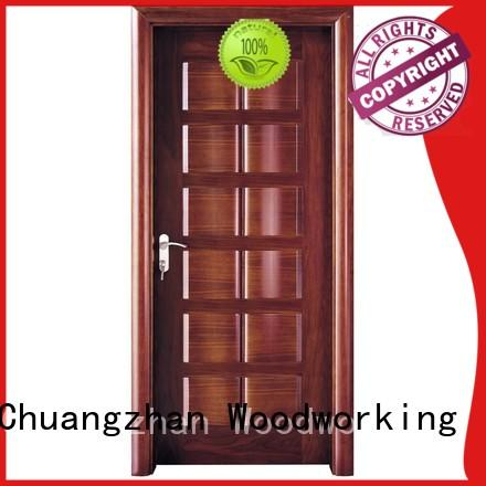 Runcheng Chuangzhan modern solid wood door designs Suppliers for offices