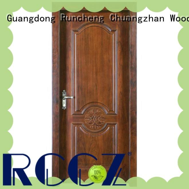 Runcheng Chuangzhan durability solid wood door designs Supply for offices