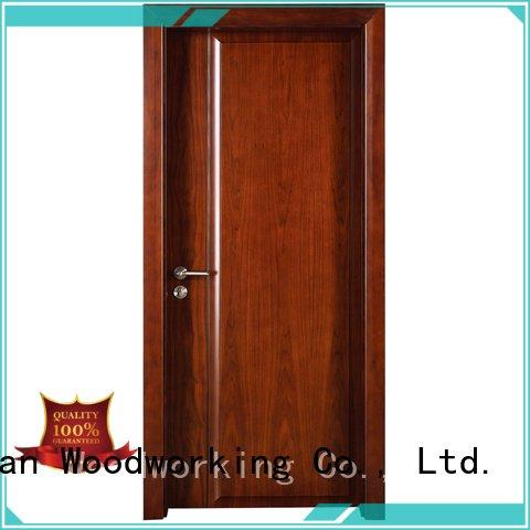 solid wood bedroom composite door veneer solid wood composite doors pp0014