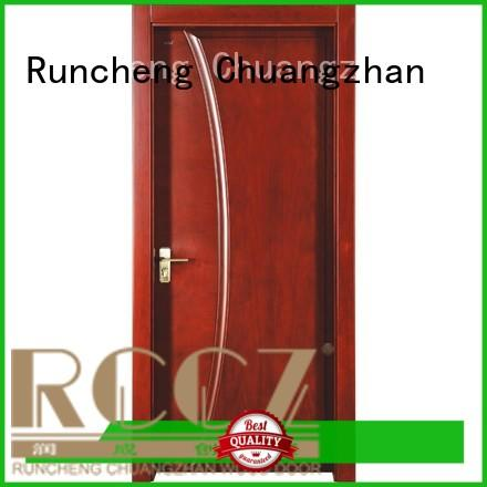 Runcheng Chuangzhan attractive wood effect composite door Supply for villas