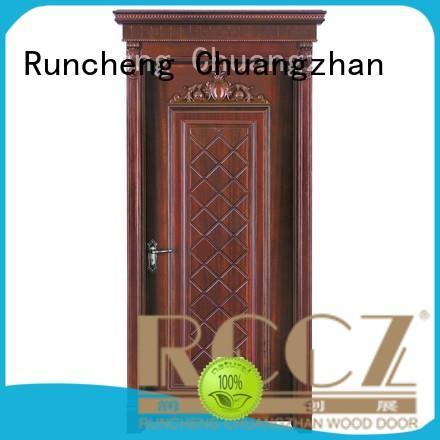 Runcheng Chuangzhan attractive wood composite door for business for hotels