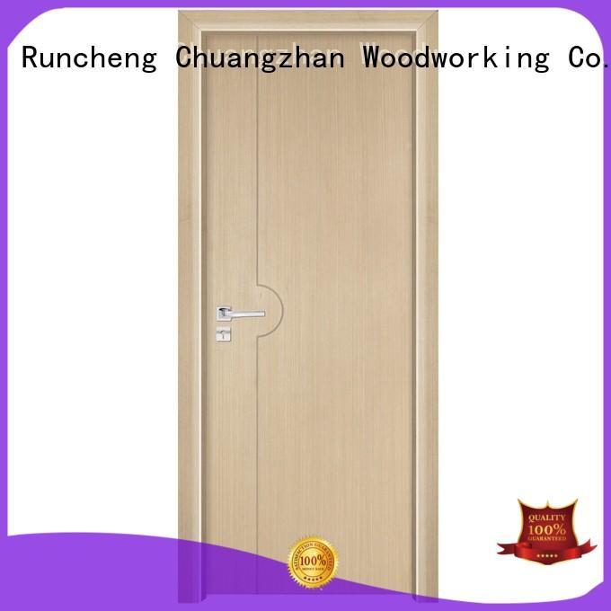 wooden kitchen cabinet doors wooden veneer interior Runcheng Woodworking Brand company