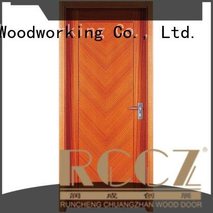 solid wood bedroom composite door s039 x010 x035 Runcheng Woodworking