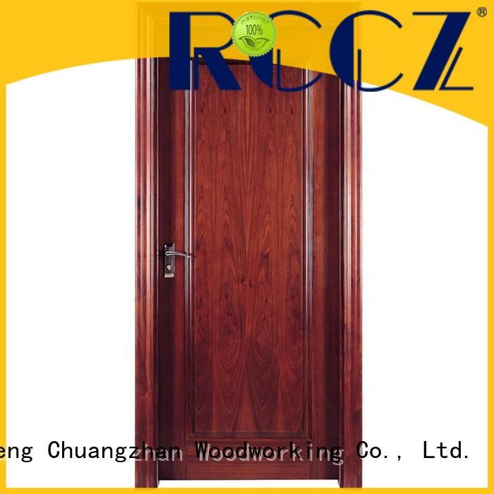 Runcheng Chuangzhan veneer solid wood door designs Supply for offices