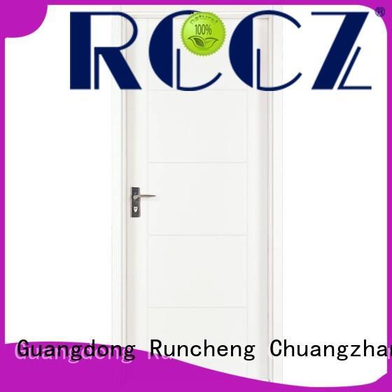 Runcheng Chuangzhan internal mdf composite wooden door factory for indoor