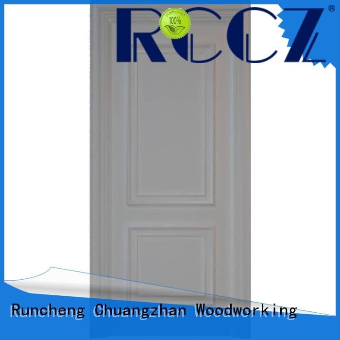 Runcheng Chuangzhan door solid mdf interior doors manufacturers for offices