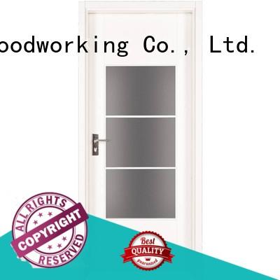 eco-friendly solid core mdf doors composited Suppliers for offices