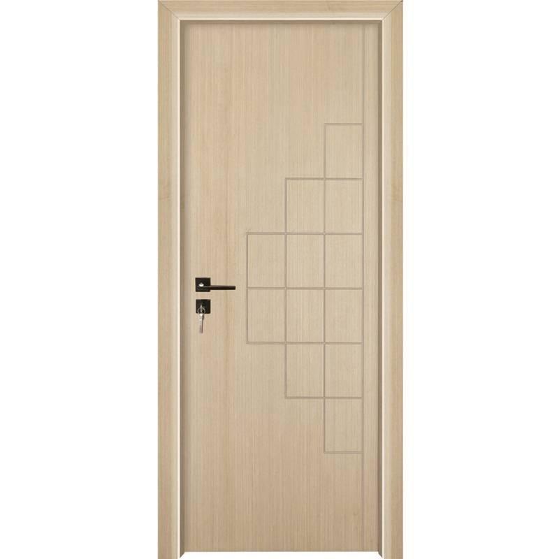 PP002 Internal white MDF composited wooden door