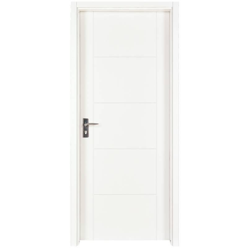 PP003 Internal white MDF composited wooden door