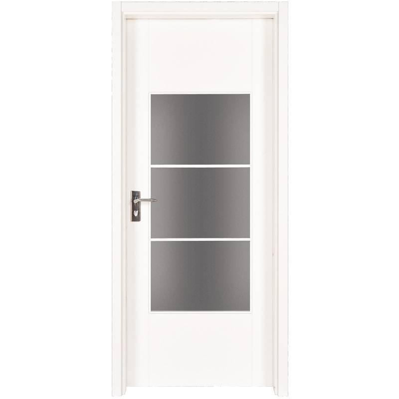 PP003-3  Internal white MDF composited wooden door