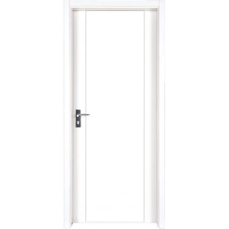 PP004  Internal white MDF composited wooden door