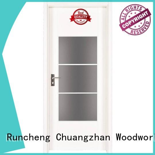 Quality Runcheng Woodworking Brand best selling mdf interior doors