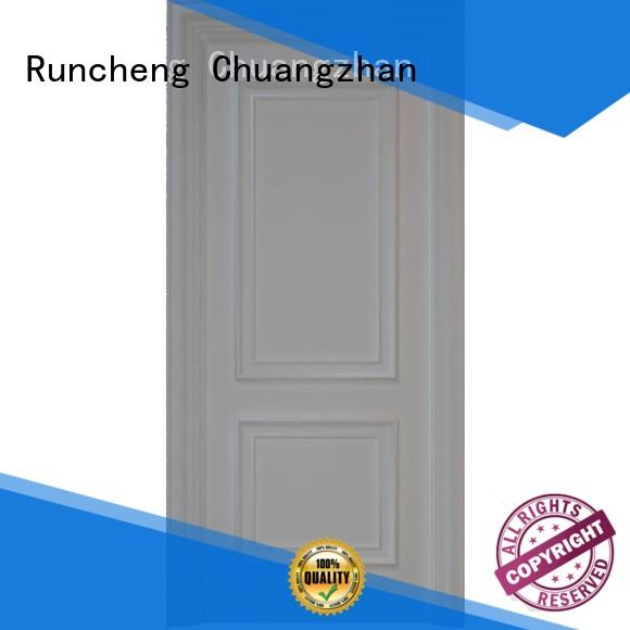 Runcheng Chuangzhan high-grade solid core mdf doors manufacturers for offices