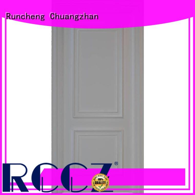 Runcheng Chuangzhan white mdf doors prices Supply for hotels