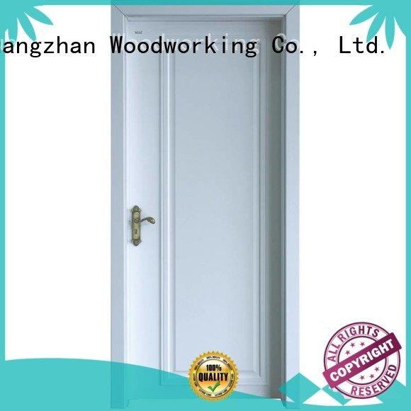 white internal white mdf composited wooden door internal Runcheng Woodworking