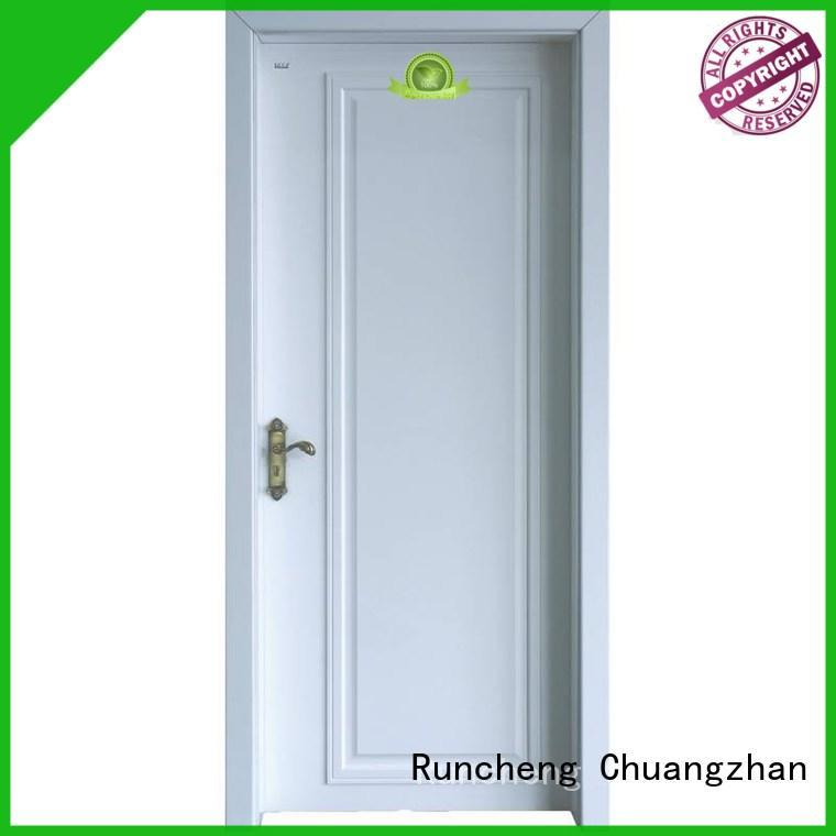 eco-friendly solid mdf interior doors wooden Supply for villas