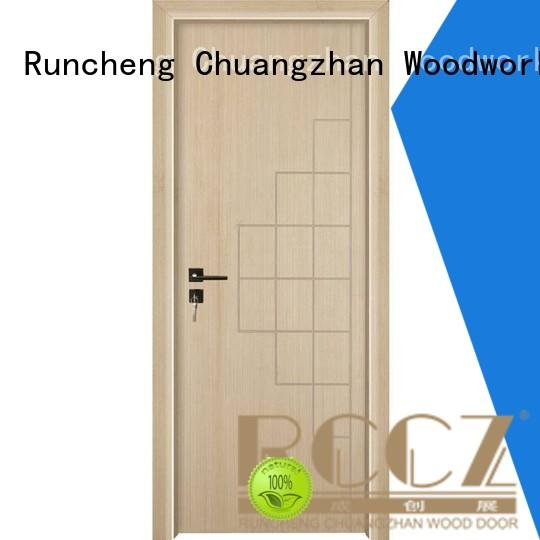 attractive solid mdf doors composited company for hotels
