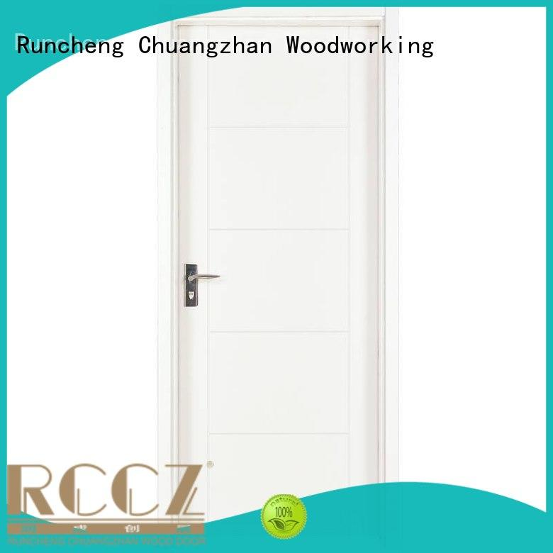 eco-friendly solid mdf interior doors white manufacturers for hotels