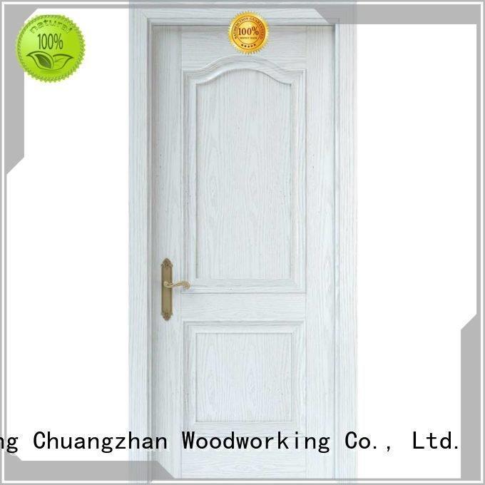 Runcheng Woodworking Brand mdf composited internal white mdf composited wooden door