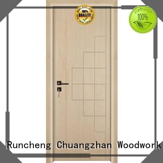 internal composited mdf doors online Runcheng Woodworking Brand
