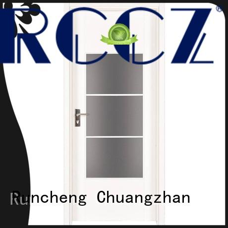 Runcheng Chuangzhan wooden mdf interior doors prices for business for hotels
