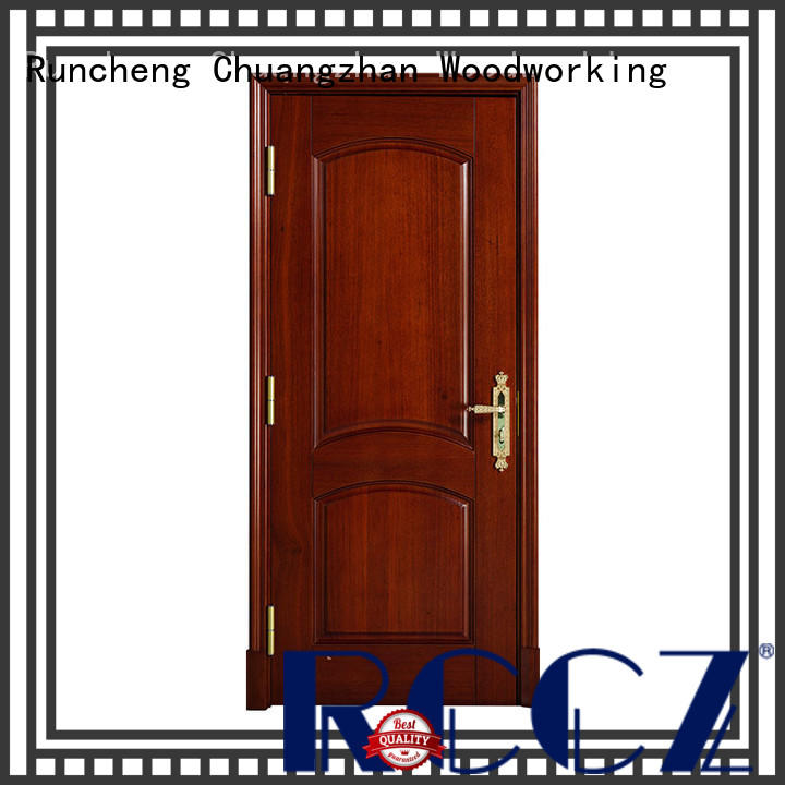 Runcheng Chuangzhan solid wood interior doors factory for offices