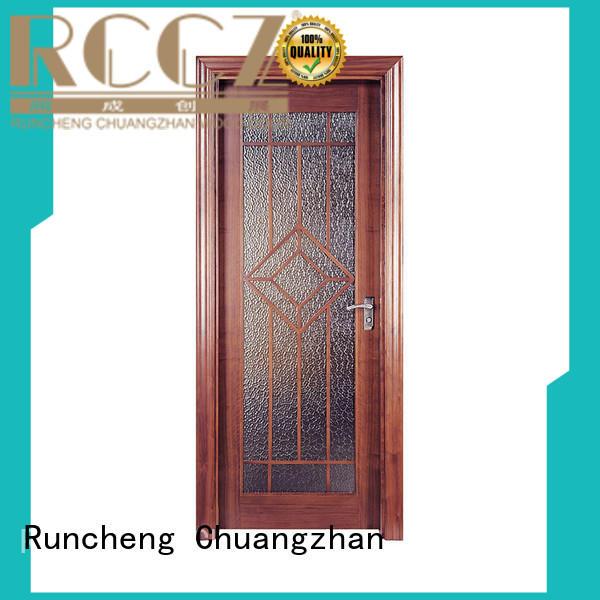 Runcheng Chuangzhan pure natural internal veneer doors for business for hotels