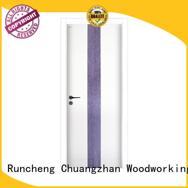 Runcheng Chuangzhan durability paint finish interior doors manufacturers for hotels