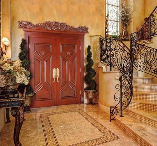 Runcheng Chuangzhan-How To Secure Wooden Door Front