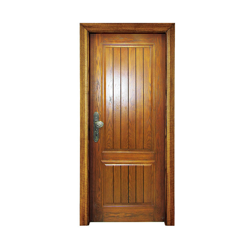 Classic style exterior walnut wood doors PP031