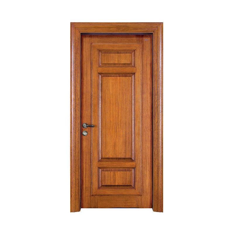 Traditional design exterior teak wooden door X052