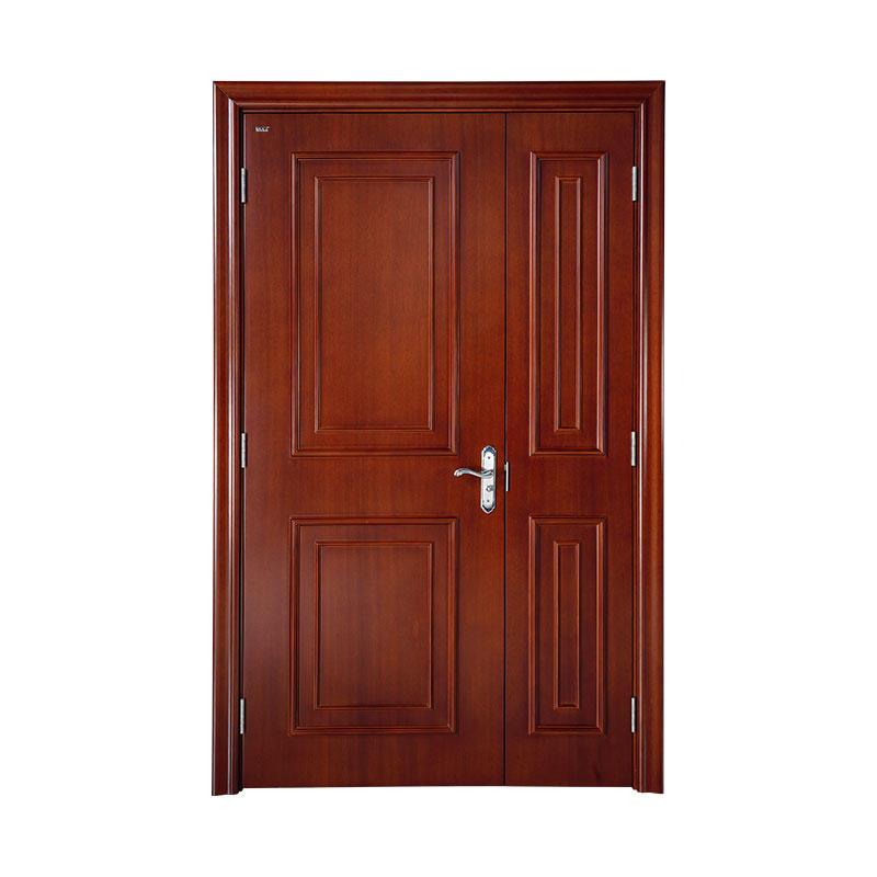 Classic style American Walnut exterior wood door WM0016