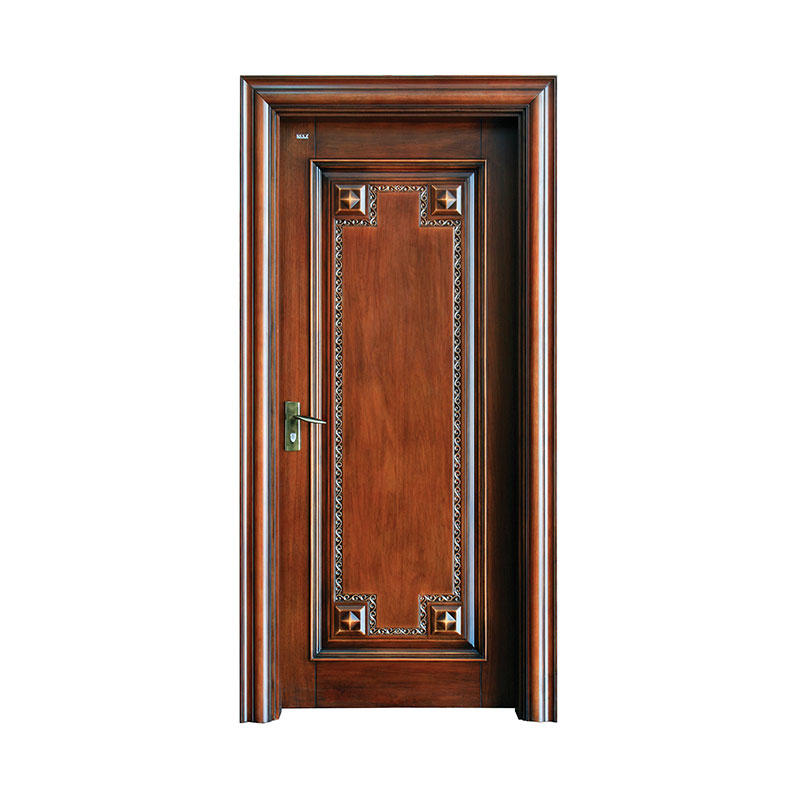 Antiquity style Cherry  exterior wood door S031Y
