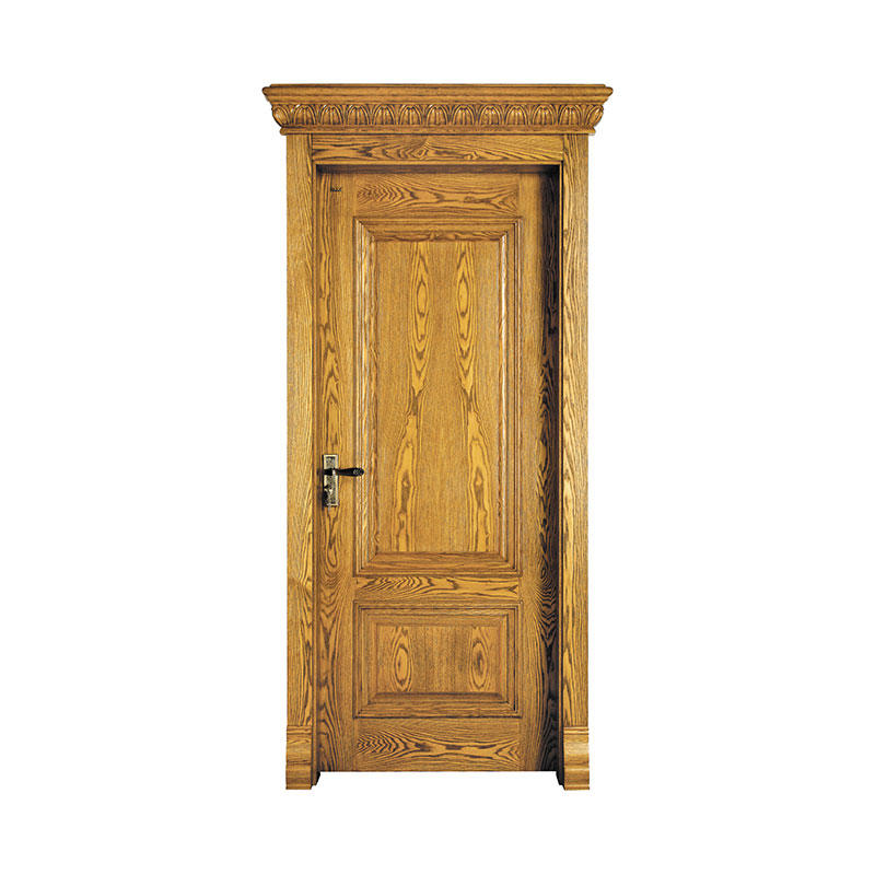 Antiquity design Golden Teak exterior wood door X053