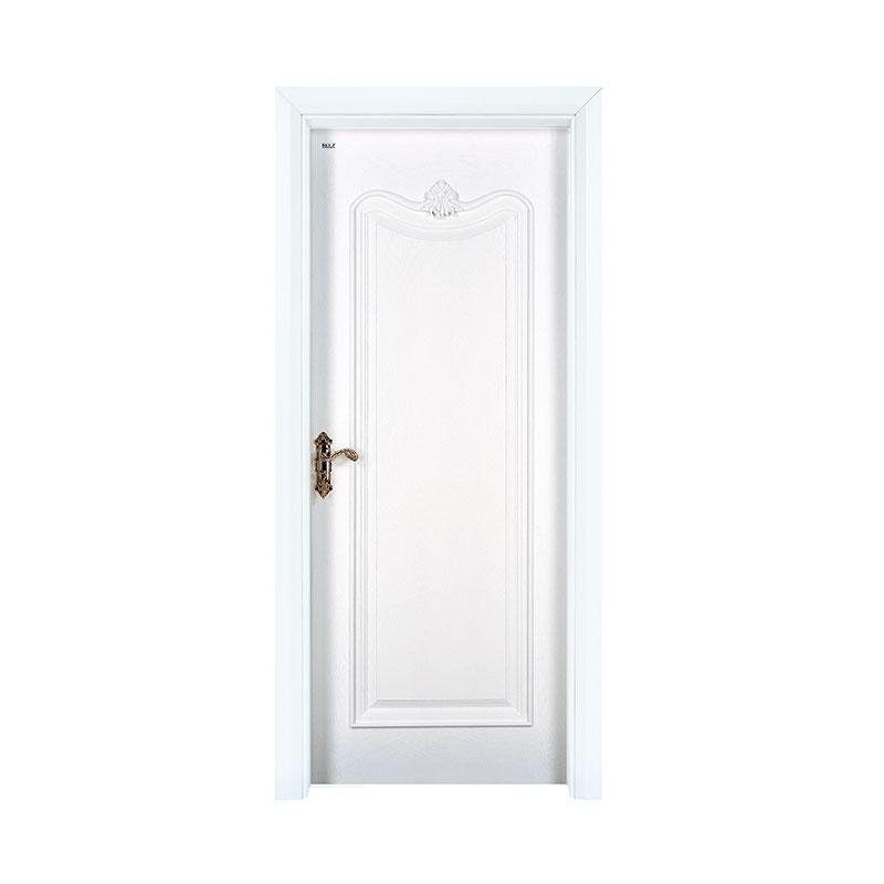Classic design white  Oak exterior wood door X037