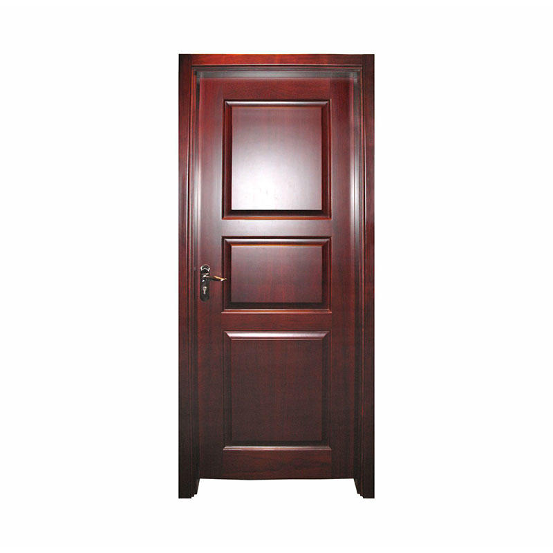 Simple style hotel Okoume wooden door W005