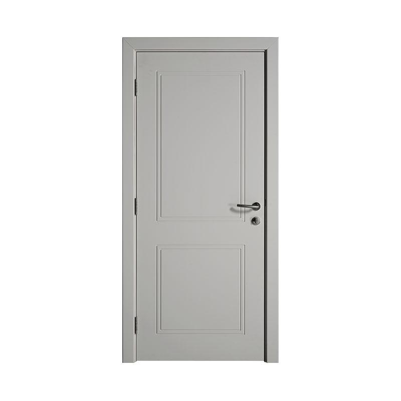 Interior simple design Smooth wooden door WM0011