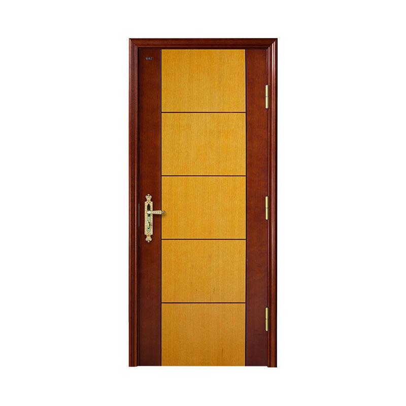 Apartment simple design Oakwooden door WM0003