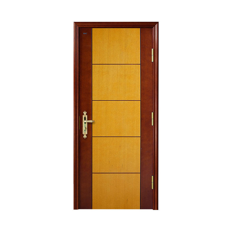Apartment simple design Oakwooden door WM0003