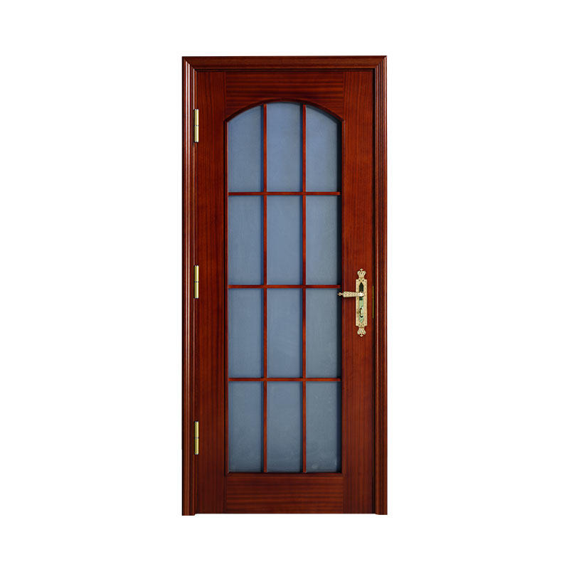 Wooden hotel Sapele simple design door WM0006