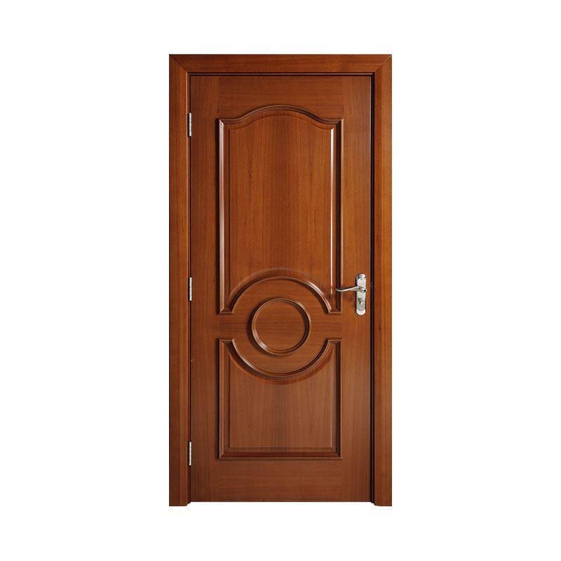 Wooden interior American Walnut latest design door WM0014