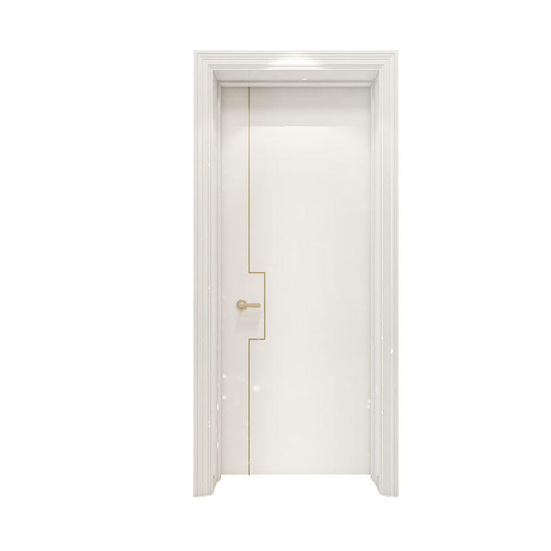 Apartment Smooth simple design wood door PP060