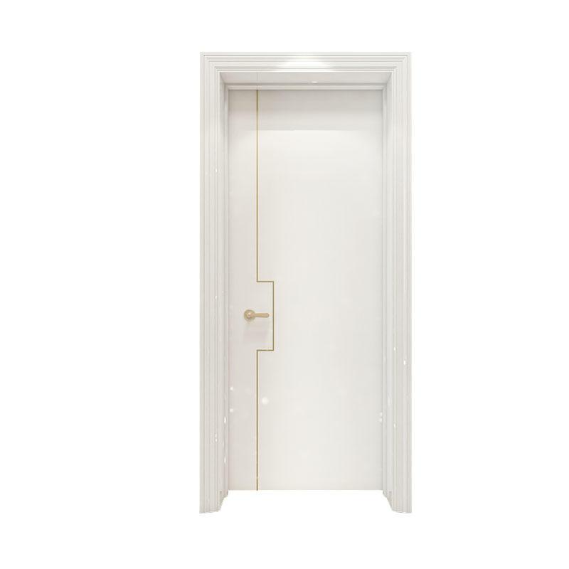 Apartment Smooth simple design wood door PP060