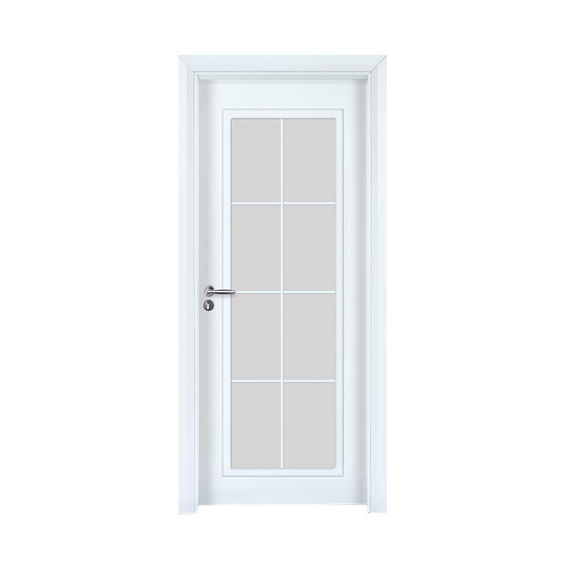 Smooth residential wood latest design door GK010