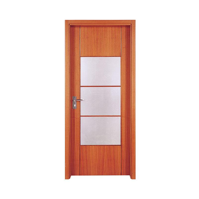 Simple design Cherry interior wood door PP003-3