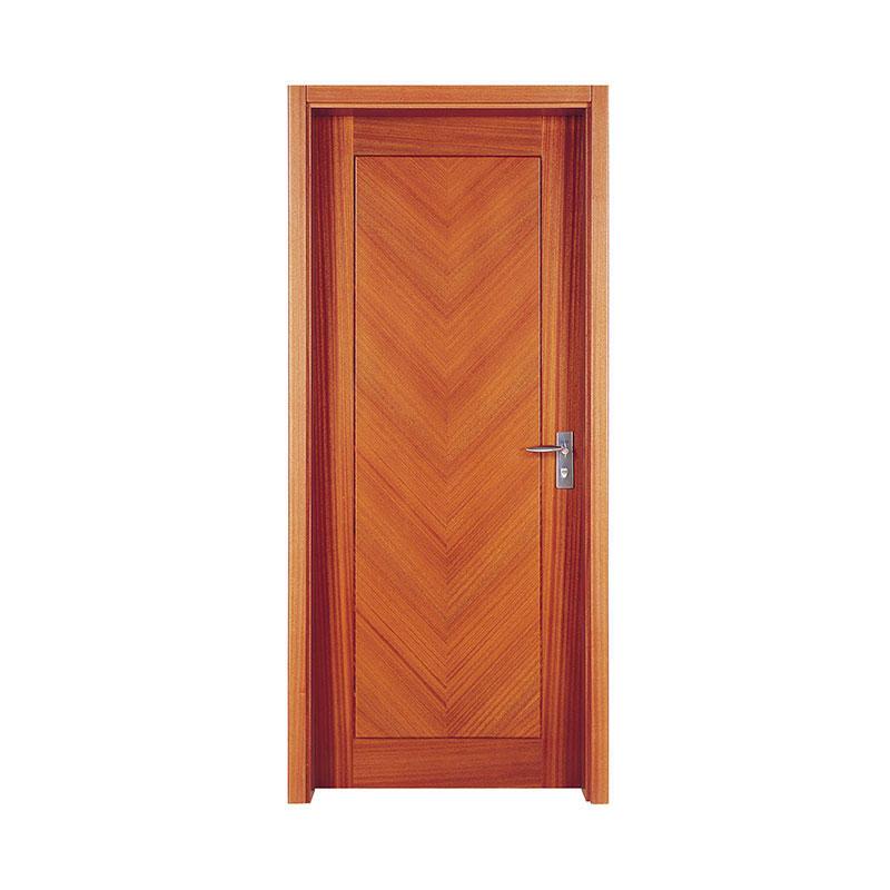 Modern design residential Sapele wood door PP009